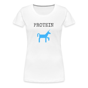 Protein Unicorn - Women's Premium T-Shirt