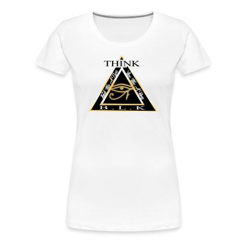 Think B.L.K. (The Vision) - Women's Premium T-Shirt