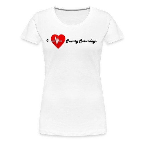 Sweaty Saturdays Valentines addition - Women's Premium T-Shirt