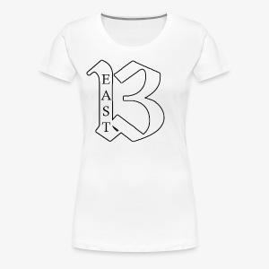 Coplete Beast White & Black Symbol - Women's Premium T-Shirt