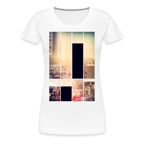 Enjoy the silence New York T-shirt - Women's Premium T-Shirt