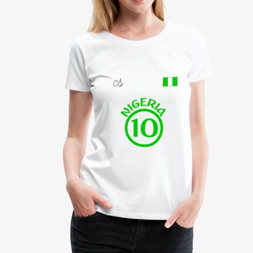 Nigerian Soccer Fan T-Shirt - Women's Premium T-Shirt