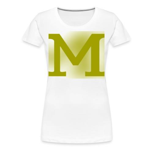 Gold M - Women's Premium T-Shirt