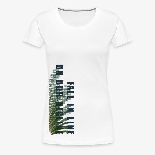 Decline - Women's Premium T-Shirt
