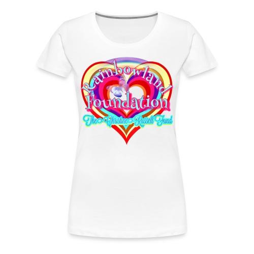 Rainbowland Foundation logo - Women's Premium T-Shirt