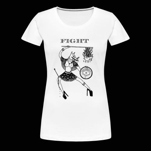 FIGHT - Women's Premium T-Shirt