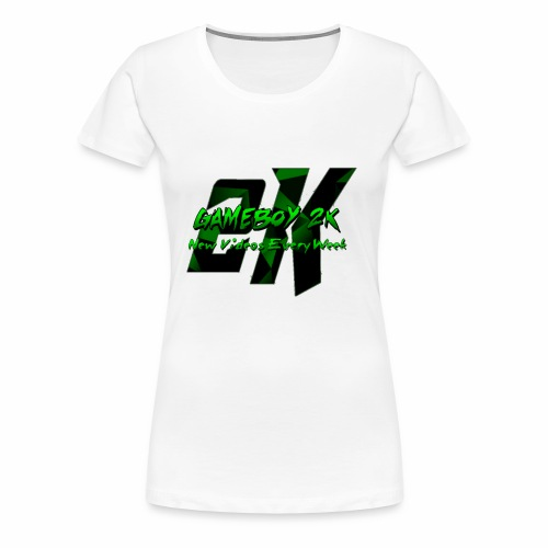 GameBoy 2K Logo - Women's Premium T-Shirt