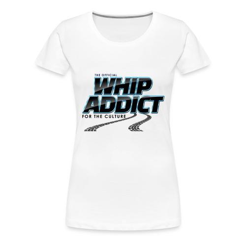 WhipAddict Black - Women's Premium T-Shirt