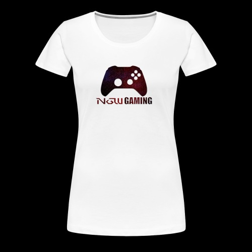 NGW Gaming Transparent Logo - Women's Premium T-Shirt