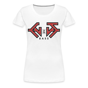 Cult Of the Bass Logo Shirt - Women's Premium T-Shirt