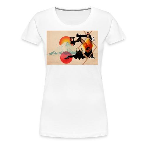 Japaned - Women's Premium T-Shirt