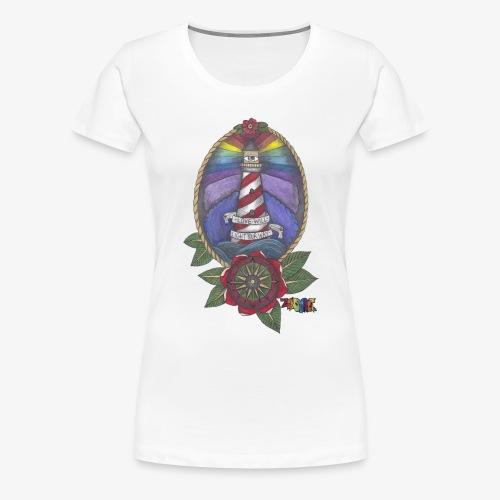Love Will Light Your Way - Women's Premium T-Shirt