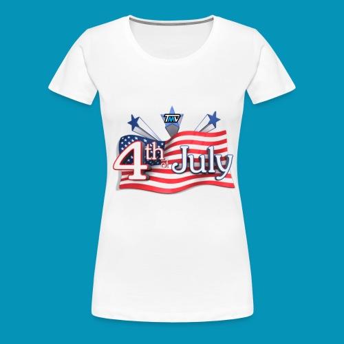 4th of July - Women's Premium T-Shirt