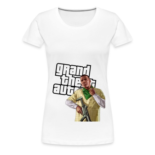 GTAV Franklin - Women's Premium T-Shirt