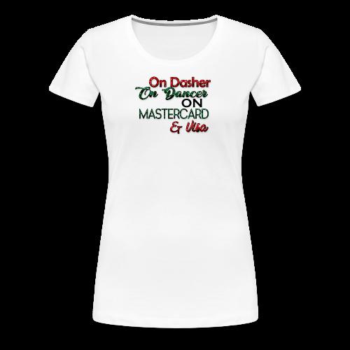 christmasshopping - Women's Premium T-Shirt