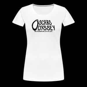 Oscar's Odyssey Logo - Women's Premium T-Shirt
