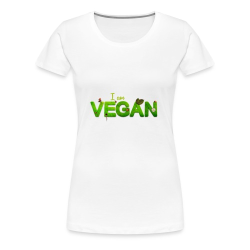 I am Vegan - Women's Premium T-Shirt