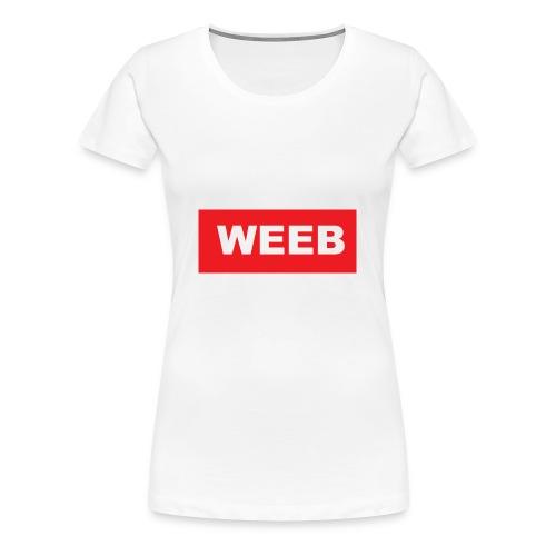 masdog weeb - Women's Premium T-Shirt