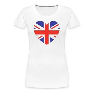Lovely Britain - Women's Premium T-Shirt