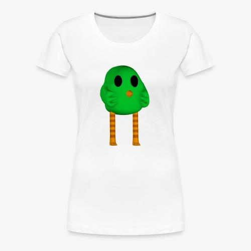 The legendary 3d birb. - Women's Premium T-Shirt