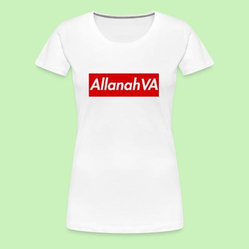 AllanahVA Supreme Red - Women's Premium T-Shirt