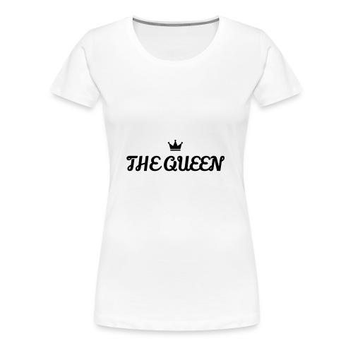 THE QUEEN SHIRT - Women's Premium T-Shirt