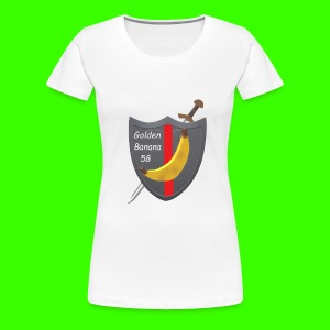GoldenBanana 58 - Women's Premium T-Shirt