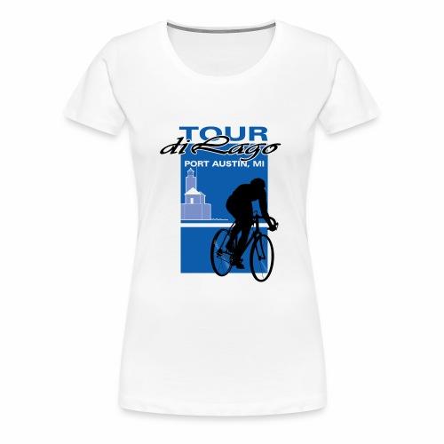 Tour di Lago - Women's Premium T-Shirt