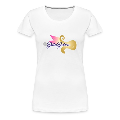 Guitar Goddess - Women's Premium T-Shirt