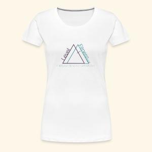 Level Fitness with Logo - Women's Premium T-Shirt