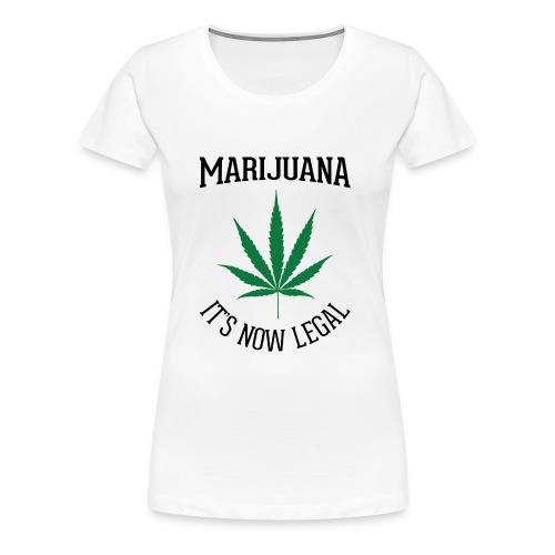 marijuana fan t-shirt - Women's Premium T-Shirt