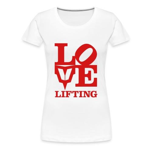 Love Lifting - Women's Premium T-Shirt