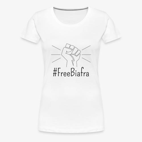 Free Biafra - Women's Premium T-Shirt