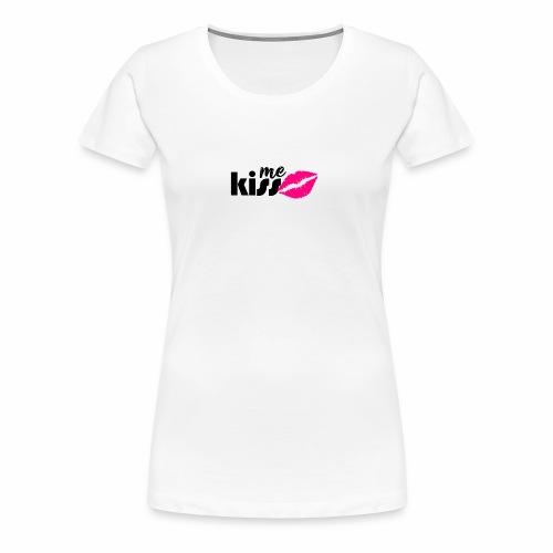 kiss me2 - Women's Premium T-Shirt