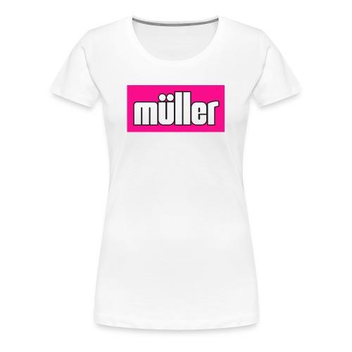 muller pink - Women's Premium T-Shirt
