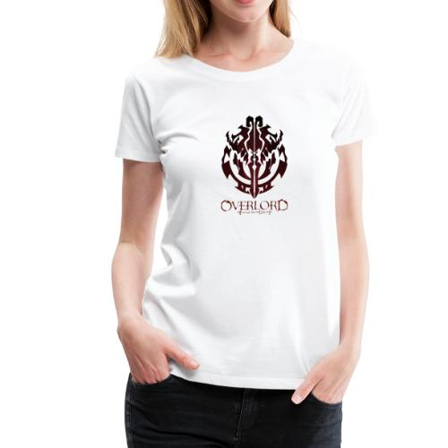 Anime - Overlord Ainz Ooal Gown Crest - Women's Premium T-Shirt