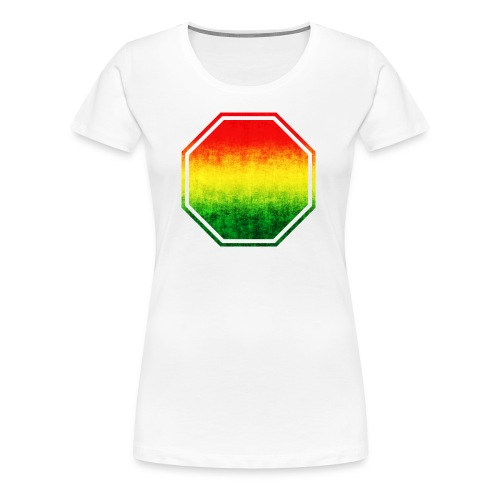rasta colors stop sign add your text here standtees templates