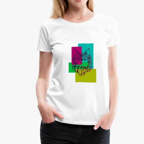 cats lover1 - Women's Premium T-Shirt