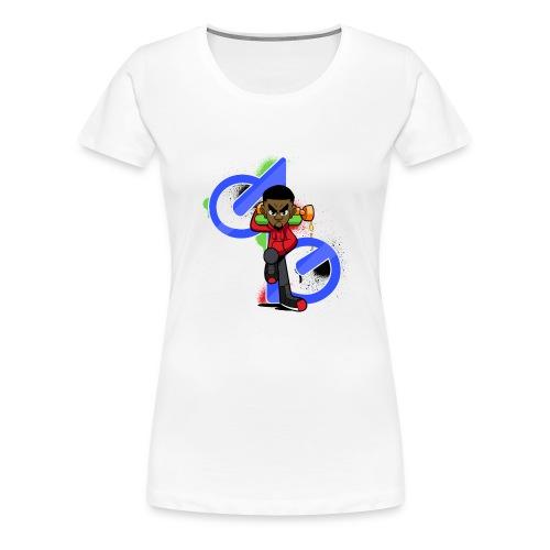 OBE1plays - Women's Premium T-Shirt