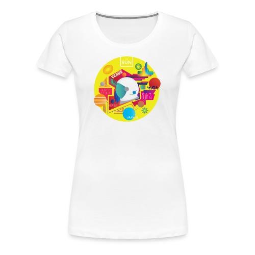 Cosmonaut DESIGN - Women's Premium T-Shirt