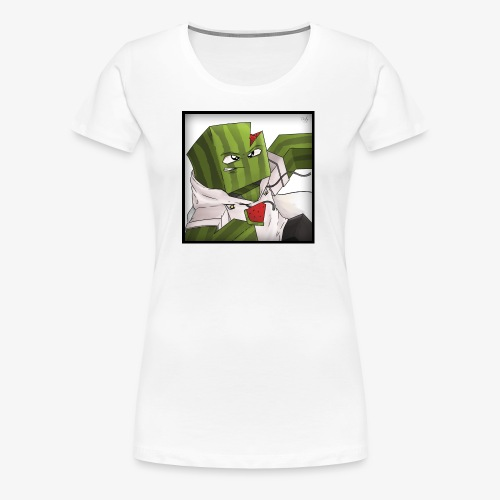 MrFlubby logo - Women's Premium T-Shirt