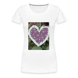 IMG 20180328 152154 its the heart of true love - Women's Premium T-Shirt