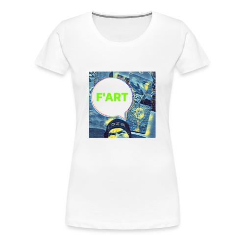 F Art - Women's Premium T-Shirt