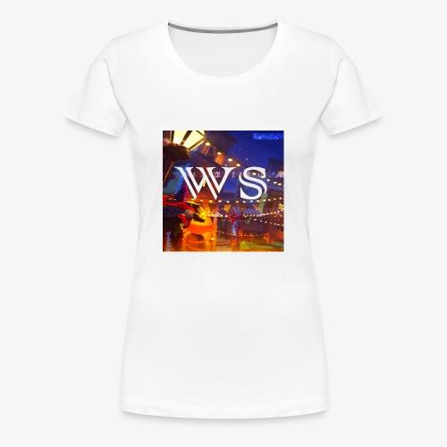 WindShot Logo 1 - Women's Premium T-Shirt