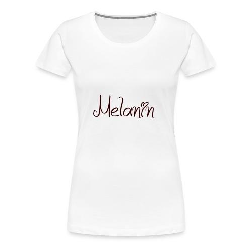 I Love Melanin - Women's Premium T-Shirt