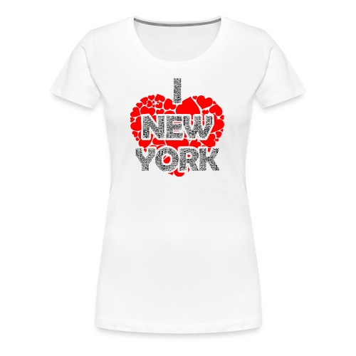 I LUV NY Tees - Women's Premium T-Shirt