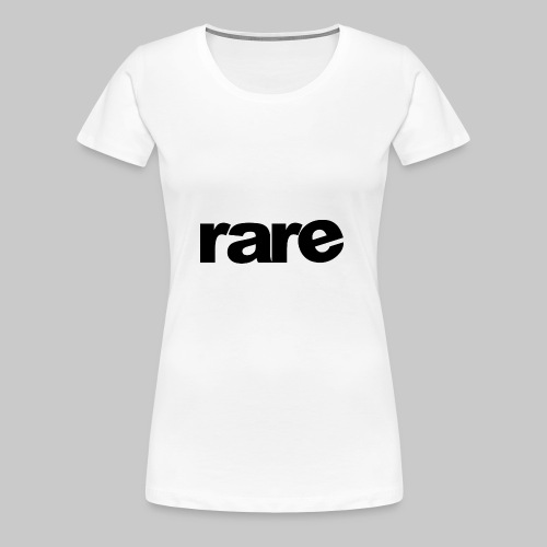 Quality Womens Tshirt 100% Cotton with Rare - Women's Premium T-Shirt