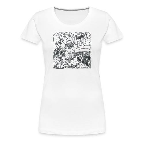 Pressure Clown Archives II Cover - Women's Premium T-Shirt