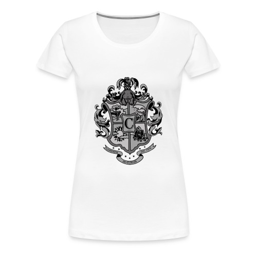 Coat of Arms with Bunny - Women's Premium T-Shirt