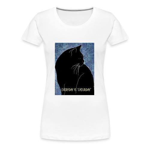 Caturday - Women's Premium T-Shirt